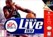 NBA Live 99 - N64 Game