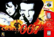 Goldeneye 007 James Bond Nintendo 64 N64 game box art image pic