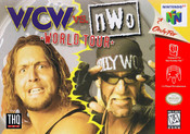 WCW vs. NWO World Tour - N64 Game