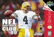 NFL Quarterback Club 99 - N64 Game