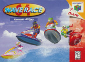 Wave Race 64 Nintendo 64 N64 video game cartridge image pic