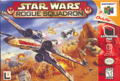 Star Wars Rogue Squadron Nintendo 64 N64 video game box art image pic