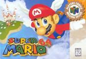 Super Mario 64 Nintendo 64 N64 video box art cover cartridge image pic