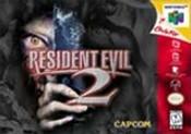 Resident Evil 2 Nintendo 64 N64 video game box art image pic