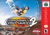 Tony Hawk's Pro Skater 2 Nintendo 64 N64 video game box art image pic