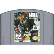 NHL Breakaway 98 - N64 Game Cartridge