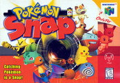 Pokemon Snap Nintendo 64 N64 video game box art image pic