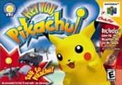 Hey You, Pikachu! Nintendo 64 N64 game box image pic
