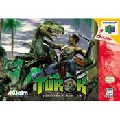 Turok Dinosaur Hunter Nintendo 64 N64 video game box art image pic