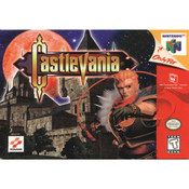 Castlevania Video Game For Nintendo N64