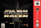 Star Wars Racer Episode 1 Nintendo 64 N64 video game box art image pic