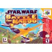 Star Wars Episode 1 Battle for Naboo Video Game For Nintendo N64