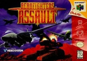 Aerofighters Assault - N64 Game