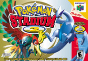 Pokemon Stadium 2 Nintendo 64 N64 video game box art image pic