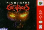 Nightmare Creatures - N64 Game