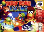 Diddy Kong Racing Nintendo 64 N64 video game box art image pic