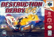Destruction Derby - N64 Game