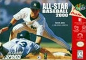 All Star Baseball 2000 - N64 Game
