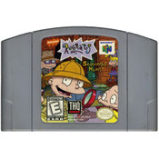 Rugrats Scavenger Hunt - N64 Game Cartridge