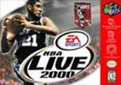 NBA Live 2000 - N64 Game