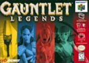 Gauntlet Legends Nintendo 64 N64 video game box art image pic