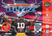 NFL Blitz - N64 Game