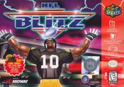NFL Blitz - N64 Game