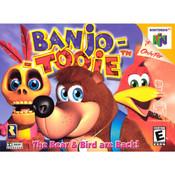 Banjo Tooie Nintendo 64 N64 used video game box art for sale online.