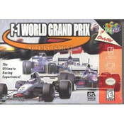 F-1 World Grand Prix - N64 Game