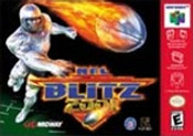 NFL Blitz 2001 - N64 Game