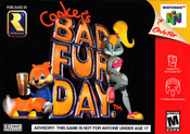 Conker's Bad Fur Day - N64 Game