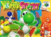 Yoshi's Story Nintendo 64 N64 video game box art image pic
