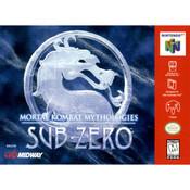 Mortal Kombat Mythologies Sub-Zero Video Game For Nintendo NES