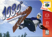 1080 Snowboarding Nintendo 64 N64 video game box art image pic