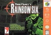 Rainbow Six - N64 Game