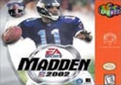 Madden 2002 - N64 Game