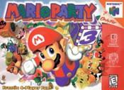 Mario Party Nintendo 64 N64 video game box art image pic