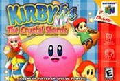 Kirby 64 The Crystal Shards Nintendo 64 N64 video game box art image pic