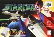 Star Fox 64 Nintendo 64 N64 video game box art image pic