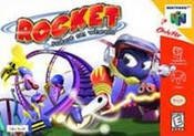 Rocket Robot on Wheels - N64 Game