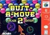 Bust a Move 2 Arcade Edition - N64 Game