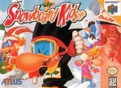 Snowboard Kids - N64 Game