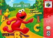 Elmo's Letter Adventure - N64 Game