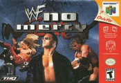 WWF No Mercy Nintendo 64 N64 video game box art image pic