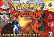 Pokemon Stadium Nintendo 64 N64 video game box art image pic