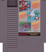 Super Mario/Duck Hunt/Track Meet - NES Cartridge without Nintendo Seal