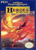 AD&D Heroes of the Lance - NES Game