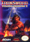 Iron Sword (Wizards and Warriors II) - NES Game