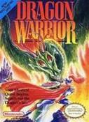 Dragon Warrior RPG Nintendo NES game box art image pic
