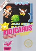 Kid Icarus NES game box image pic